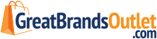 Great Brands Outlet Logo, GreatBrandsOutlet.com