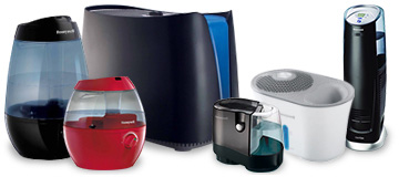 humidifiers and replacement humidifier filters
