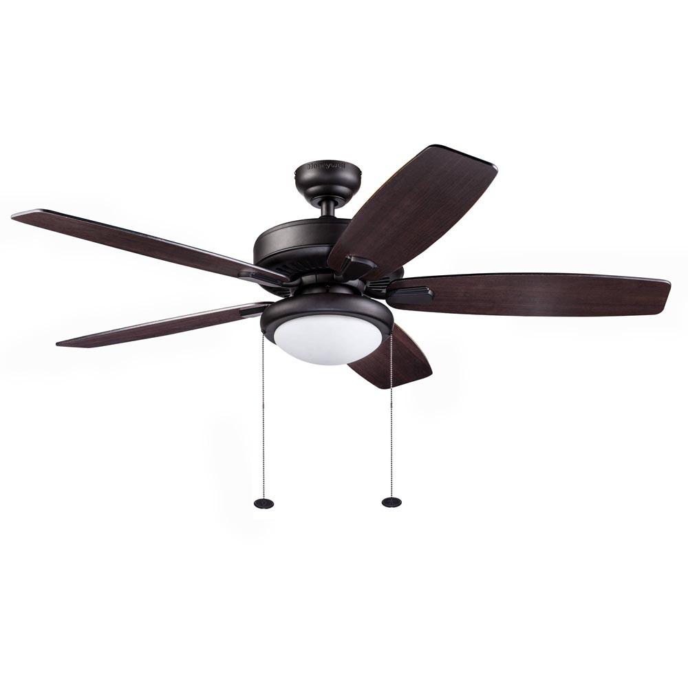 Honeywell Blufton Outdoor Ceiling Fan Bronze 52 Inch