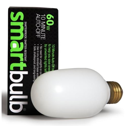 Smart Electric 200 10-Minute Auto-Off 60-Watt Incandescent Smart Timer  Bulb, Soft White