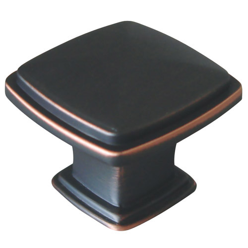 Design House Park Avenue Cabinet and Drawer Pull Handle, Oil Rubbed Bronze Finish - 203984