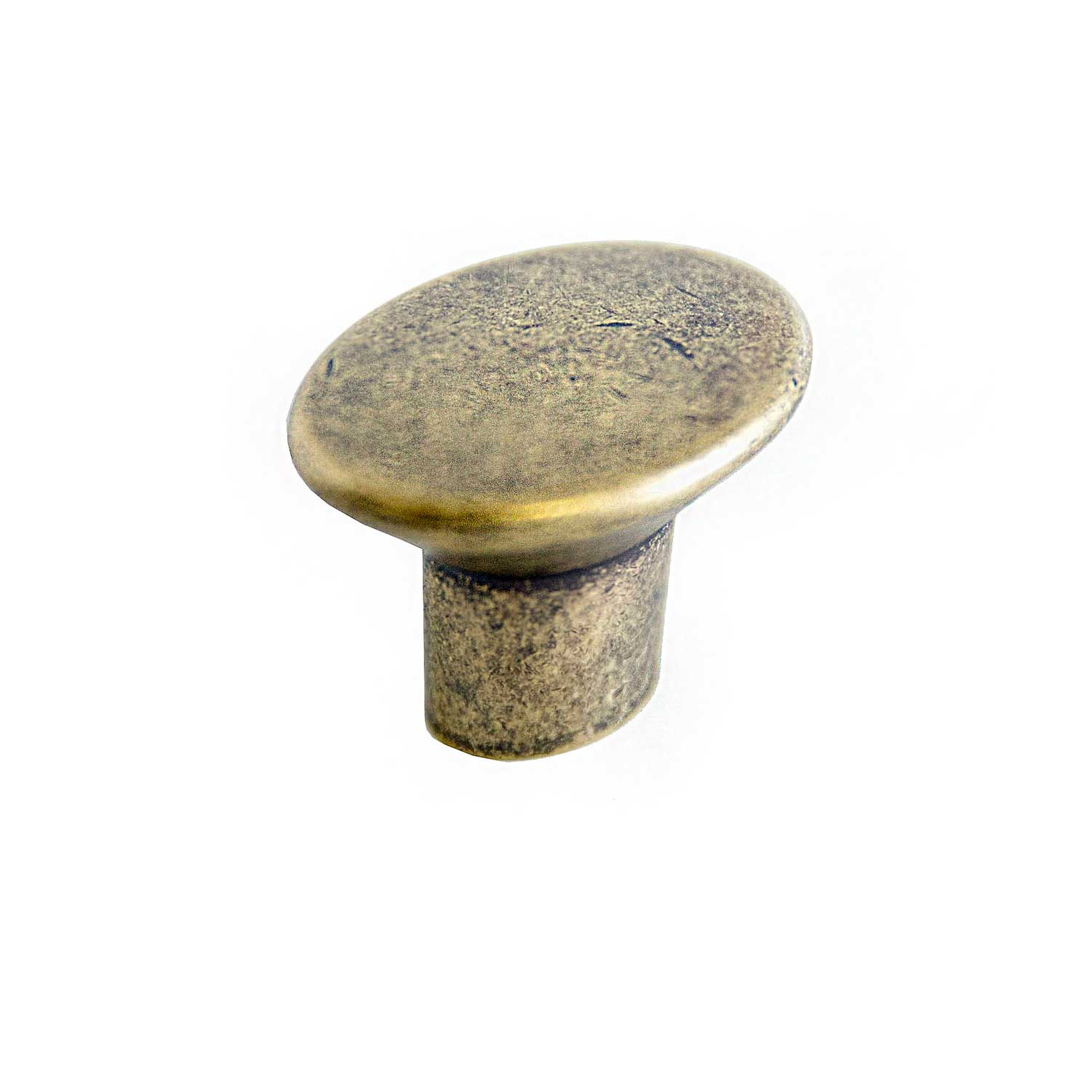 Design House Mesa Cabinet Knob, Antique Brass - 205328