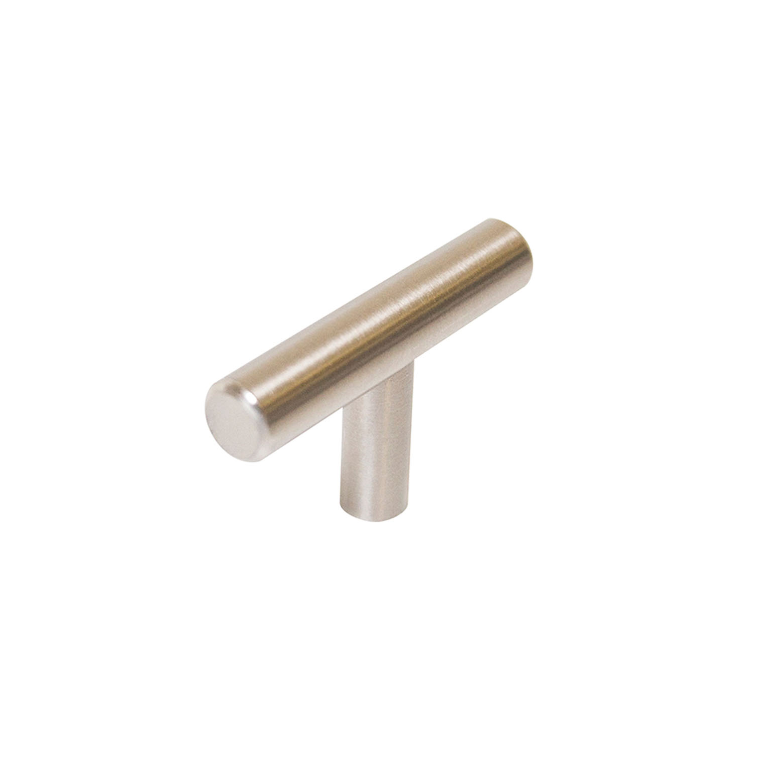 Design House 1.5 in. T-Pull Cabinet Knob, Stainless Steel - 205682