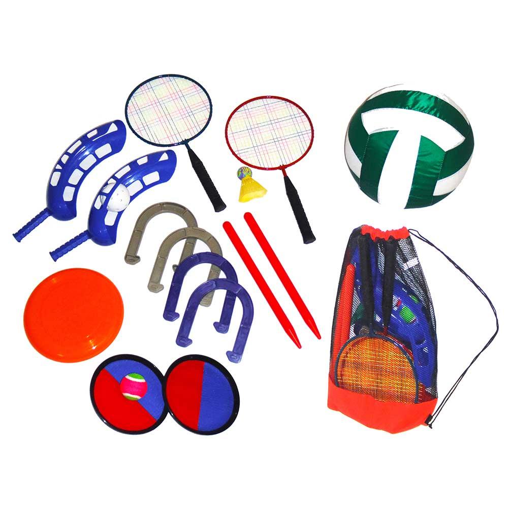 Yolo Sports Six Games in One Backyard Fun Set