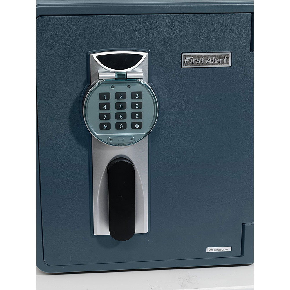 First Alert 0.94 Cubic Foot Water, Fire and Anti-Theft Digital Safe - 2087DF