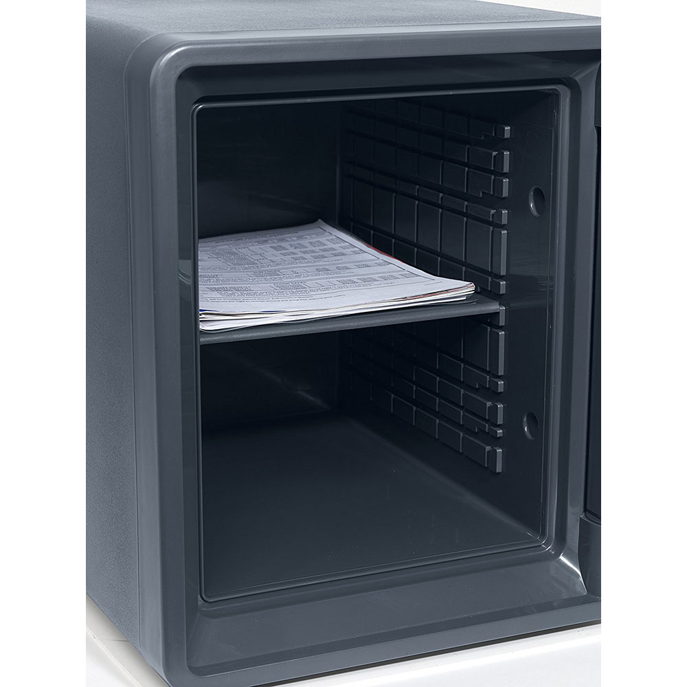First Alert 1.3 Cu. Ft. Digital Waterproof and Fire Resistant Bolt-Down Safe with Ready-Seal Technology - 2092DF-BD