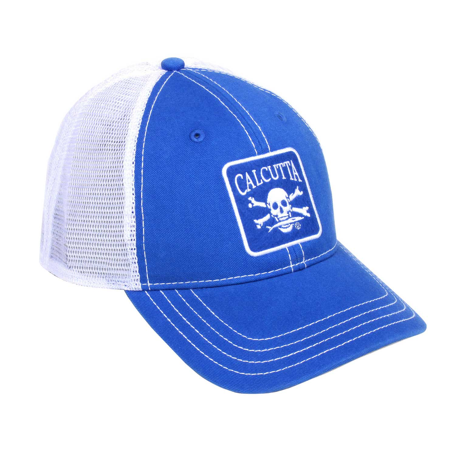 150b8cbda1b25 Calcutta BRS108058RB Patch Cap in Royal Blue