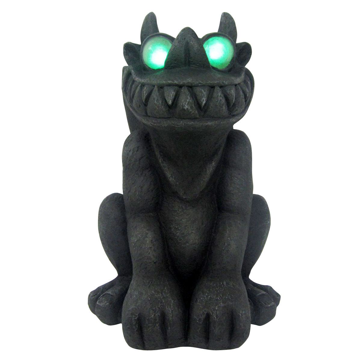 Design House 18.1 in. LED Gargoyle Light-Up Lawn Halloween Decoration - 319673