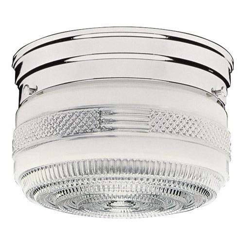 Design House 2-Light Ceiling Mount, Polished Chrome Finish - 501999
