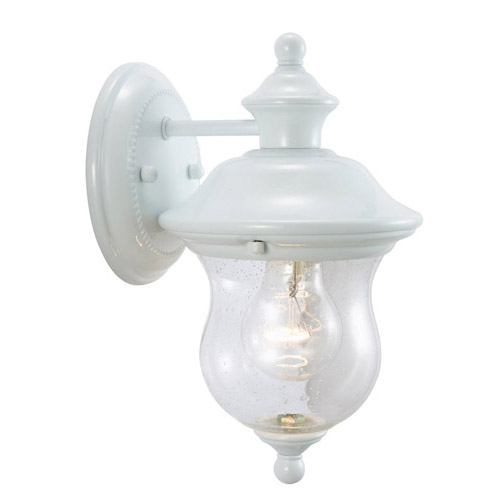Design House Highland Outdoor Downlight, 6inch by 10.63inch, White Finish - 503839