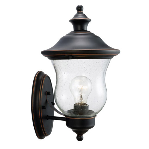 Design House Highland Outdoor Uplight, 7.5inch by 13inch, Oil Rubbed Bronze Finish - 505362