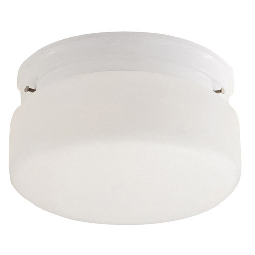 Design House 2-Light Ceiling Mount, White Finish - 507327