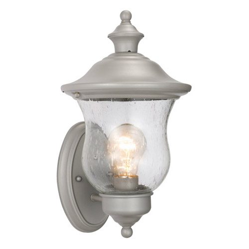 Design House Highland Outdoor Uplight, 7.5inch by 13inch, Heritage Silver Finish - 508978