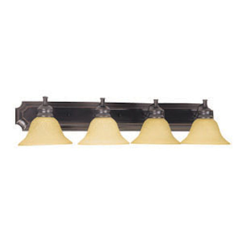 Design House Bristol 4-Light Vanity-Light, Oil Rubbed Bronze Finish - 511758