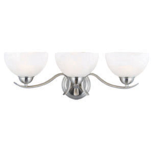 Design House Trevie 3-Light Vanity Light, Satin Nickel Finish - 512541