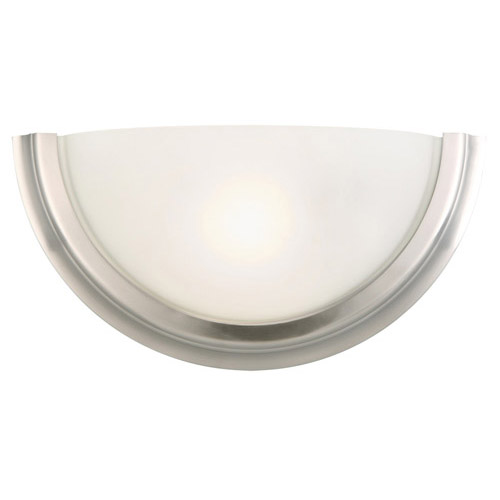 Design House Fairfax 1-Light Wall Sconce, Satin Nickel Finish - 514562