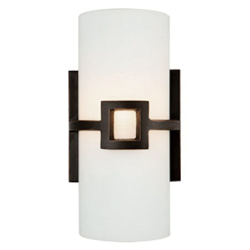 Design House Monroe 2-Light Wall Sconce, Oil Rubbed Bronze Finish - 514604