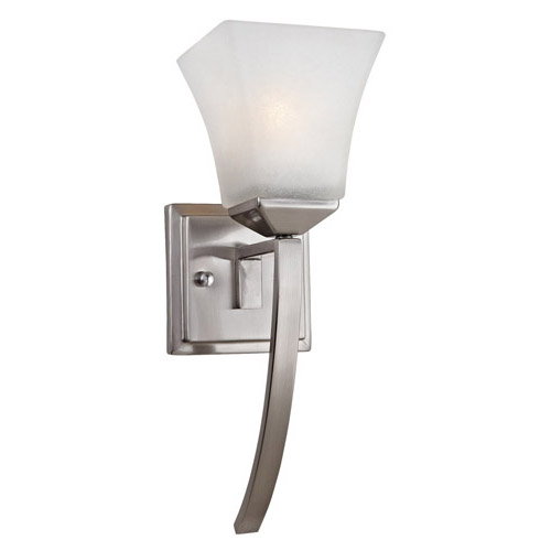 Design House Torino 1-Light Extended Wall Sconce, Satin Nickel Finish - 514786