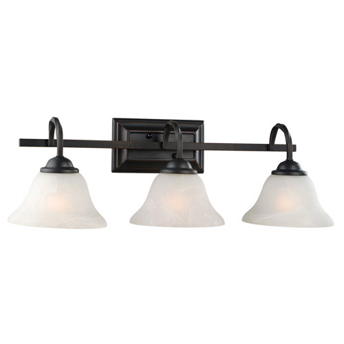Design House Drake 3-Light Vanity Light, Oil Rubbed Bronze Finish - 514901