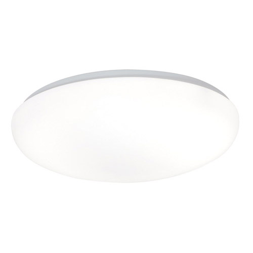 Design House 2-Light Fluorescent Round Cloud Ceiling Mount, White Acrylic Finish - 517300
