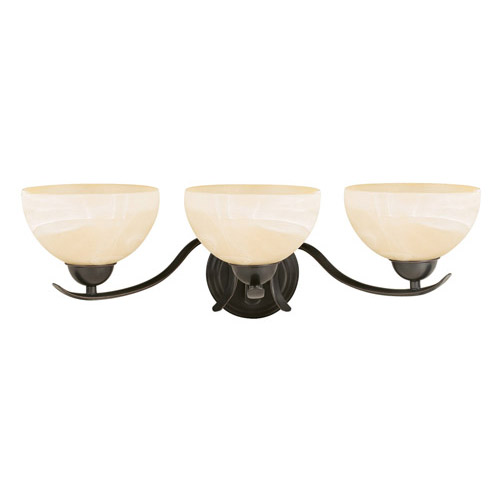 Design House Trevie 3-Light Vanity Light, Oil Rubbed Bronze Finish - 517466