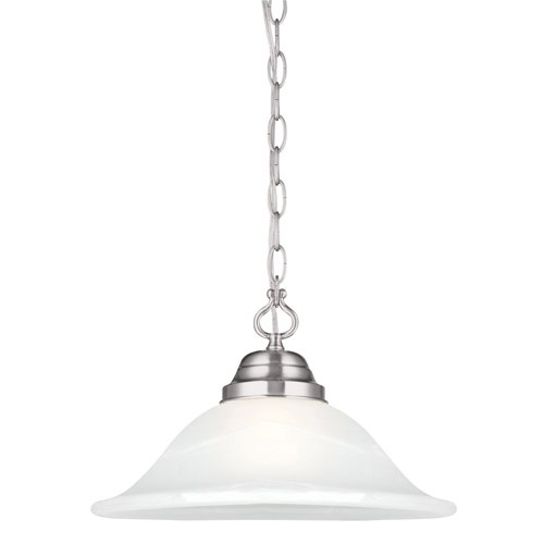 Design House Millbridge Large Pendant, Satin Nickel Finish - 517565
