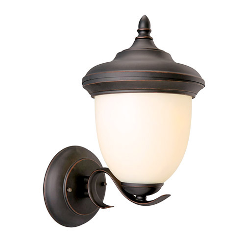 Design House Trevie Outdoor Uplight, 8inch by 14inch, Oil Rubbed Bronze Finish - 517680