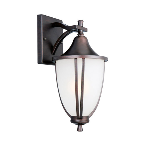 Design House Ironwood Outdoor Downlight, 8.375inch by 14.75inch, Brushed Bronze Finish - 517797