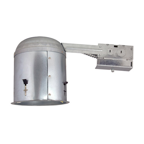 Design House 6inch Recessed Lighting Housing for Remodel, Galvanized Steel Finish - 519520