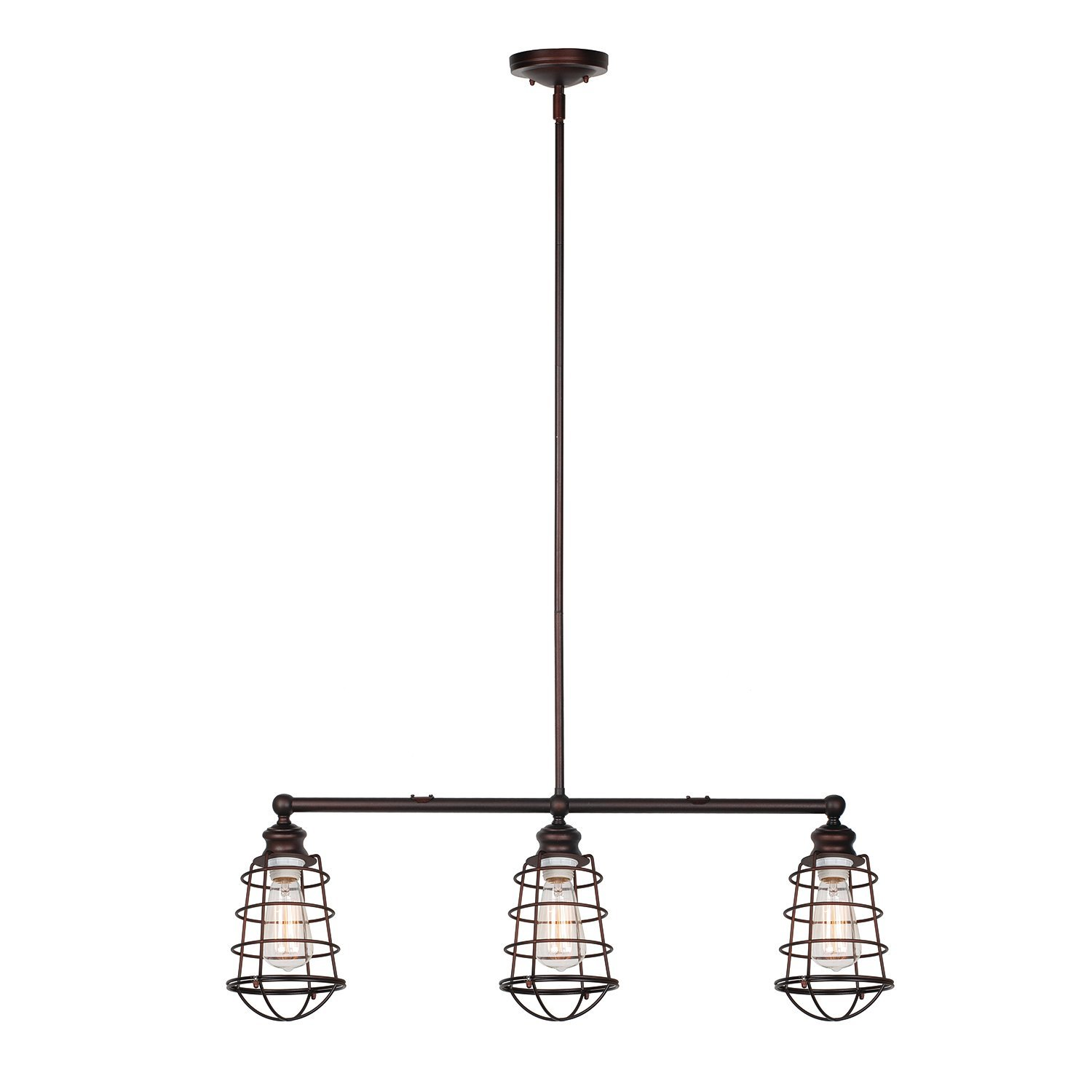 Design House Ajax 3-Light Pendant, Coffee Bronze Finish - 519785