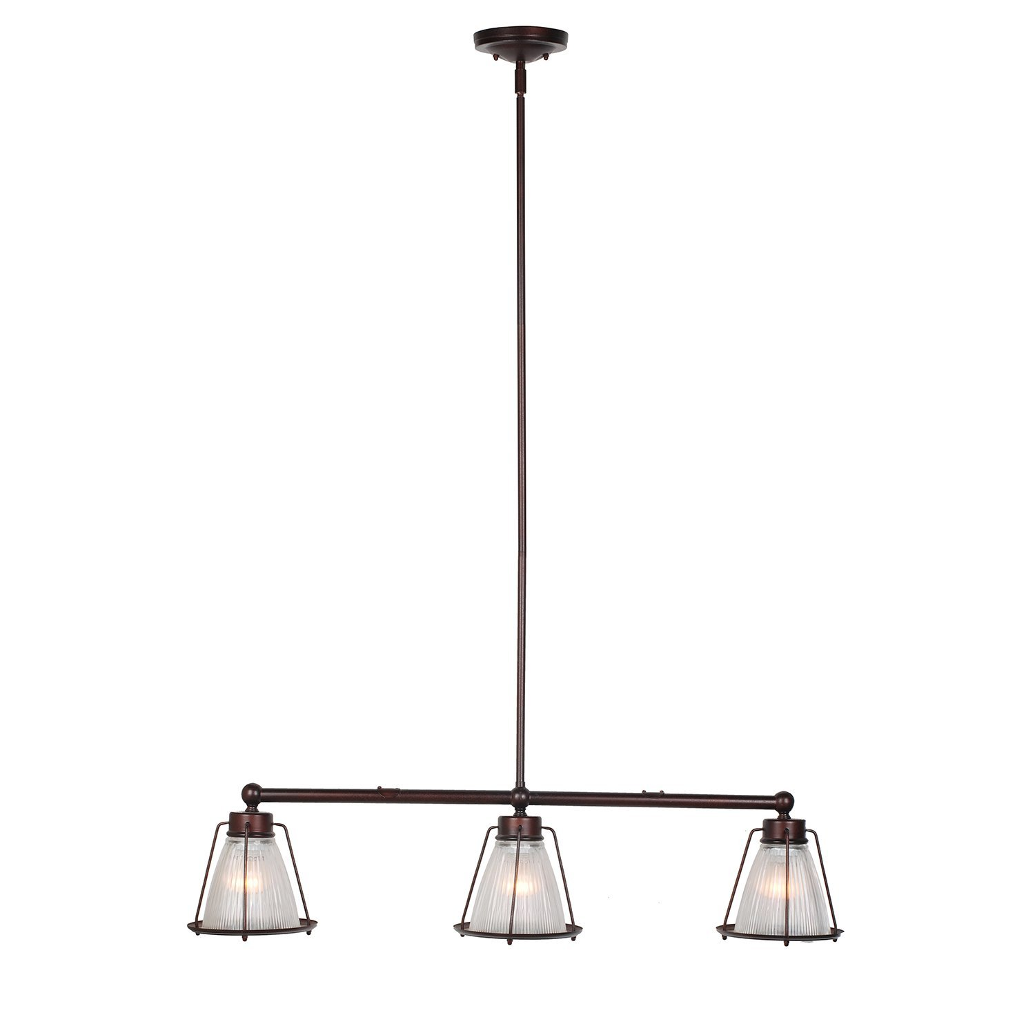 Design House Essex 3-Light Pendant, Coffee Bronze Finish - 519793