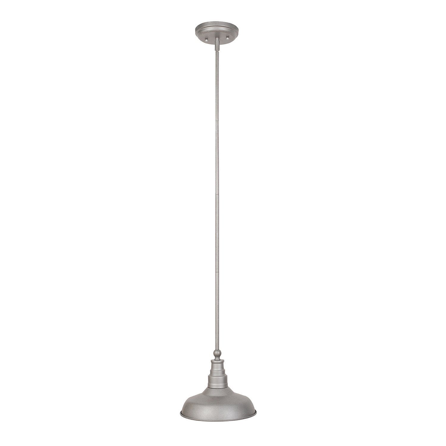 Design House Kimball 1-Light Pendant, Galvanized Steel Finish - 519819