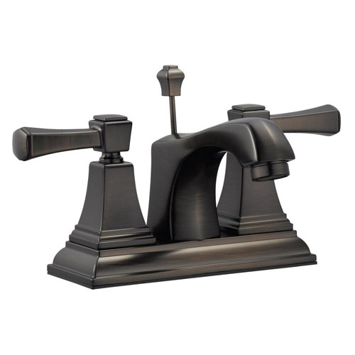 Design House Torino 4inch Lavatory Faucet, Brushed Bronze Finish - 522003