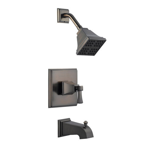 Design House Torino Tub and Shower Faucet, Brushed Bronze Finish - 522037