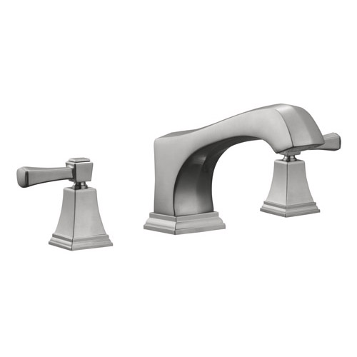 Design House Torino Roman Tub, Satin Nickel Finish - 522086