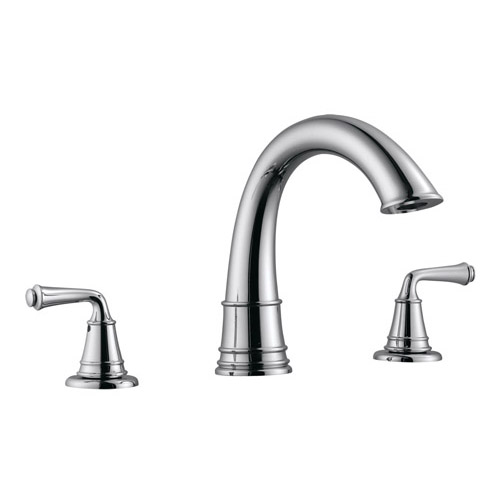 Design House Eden Roman Tub Faucet, Satin Nickel Finish - 524595