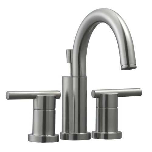 Design House Geneva 4inch Lavatory Faucet, Satin Nickel Finish - 525758