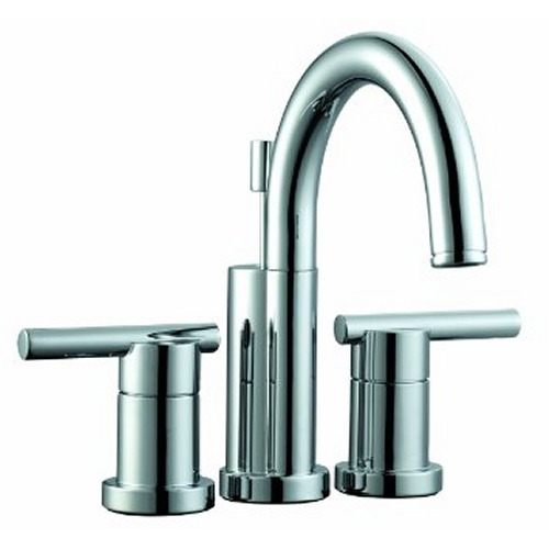 Design House Geneva 4inch Lavatory Faucet, Polished Chrome Finish - 525766