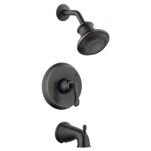 Design House Madison Tub and Shower Faucet, Oil Rubbed Bronze Finish - 525774