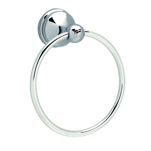 Design House Allante Towel Ring, Polished Chrome Finish - 532895