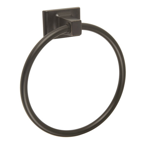 Design House Millbridge Towel Ring, Oil Rubbed Bronze Finish  - 539239