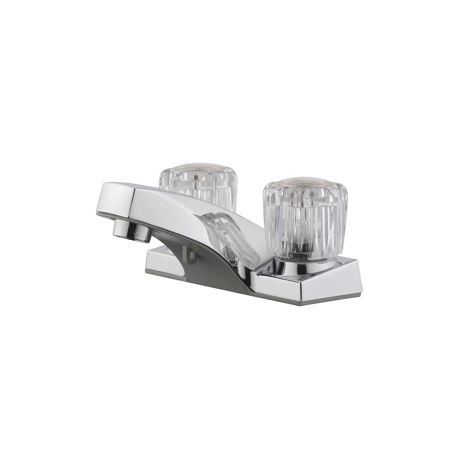 Design House Millbridge 4 in. Dual Handle Lavatory Faucet No Pop up Assembly, Polished Chrome - 545954