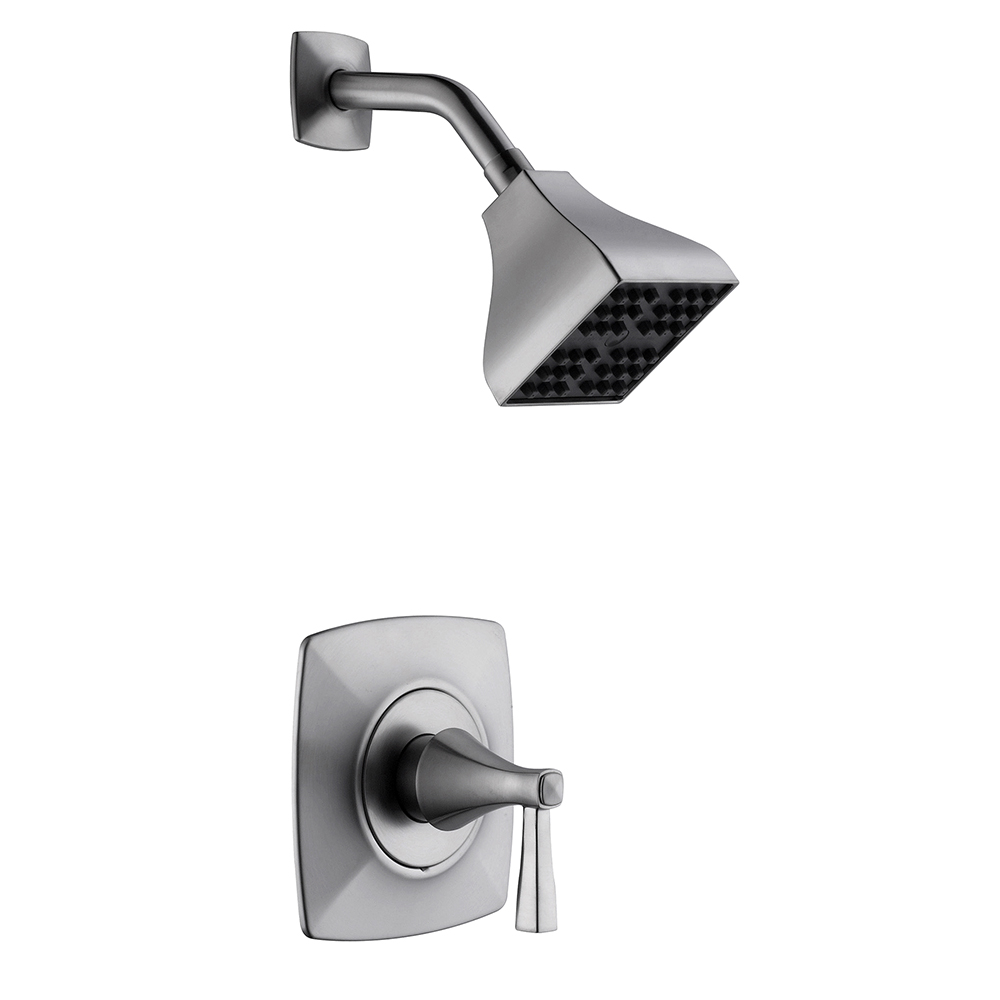 Design House Perth Single Handle Shower Faucet, Satin Nickel Finish - 546978