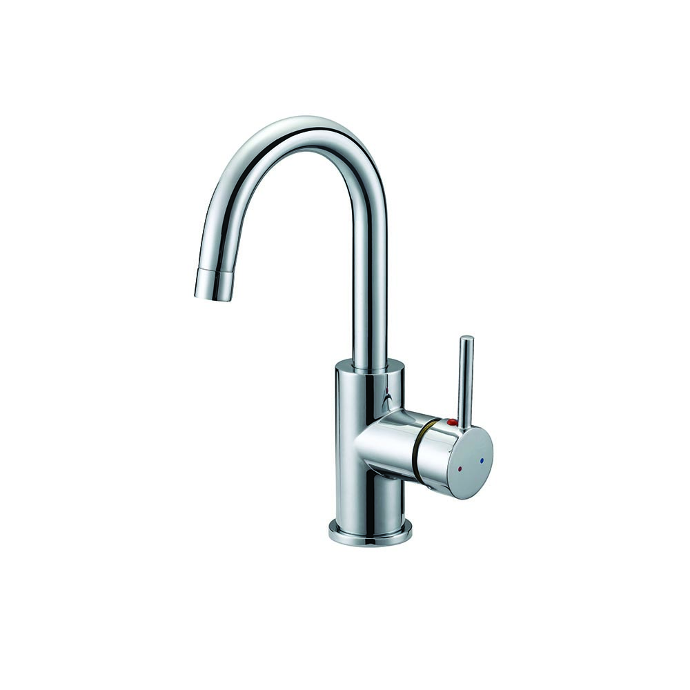 Design House Eastport Single Handle Kitchen Faucet, Polished Chrome Finish - 547562