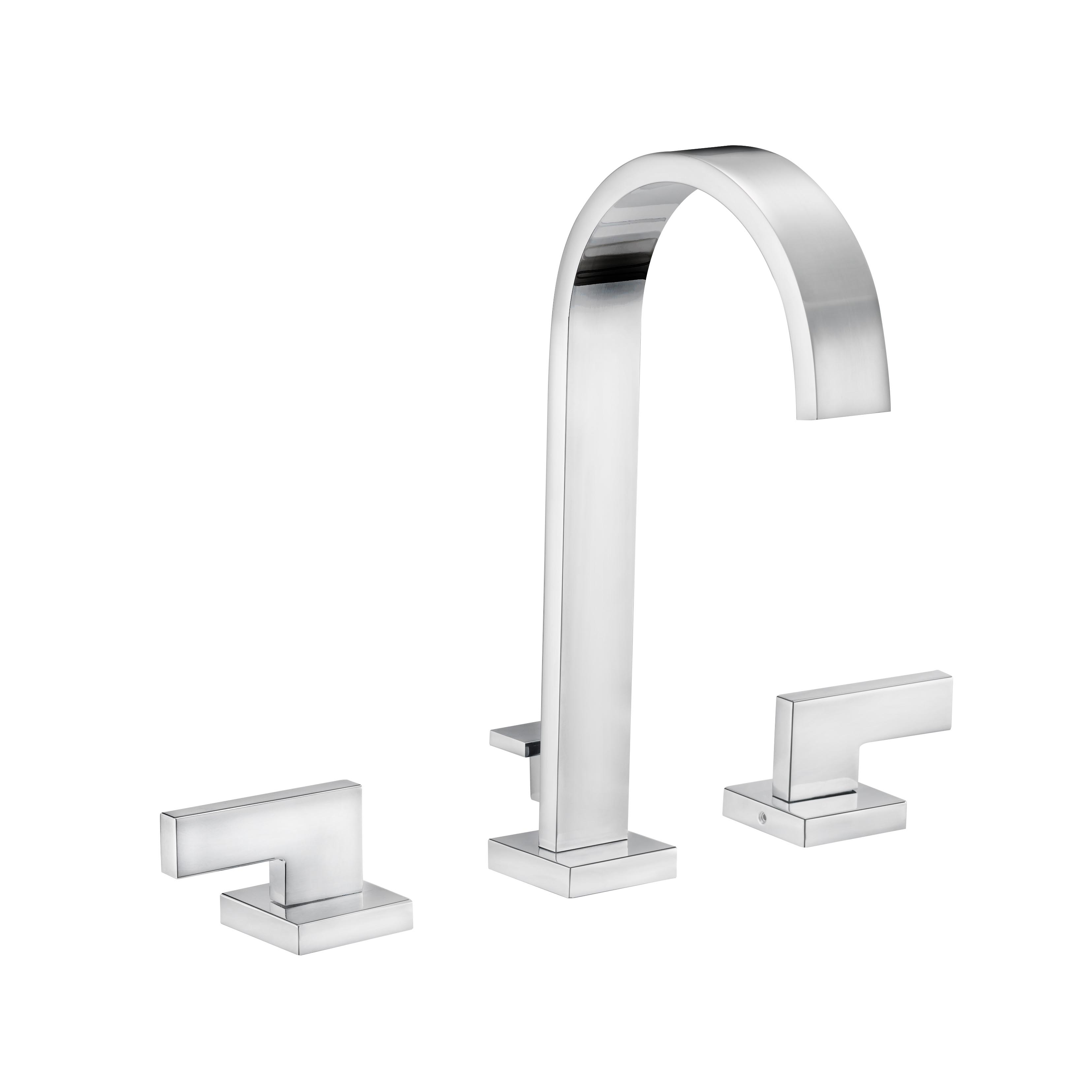 Design House Karsen Widespread Dual-Handle Lavatory Faucet, Polished Chrome Finish - 547646