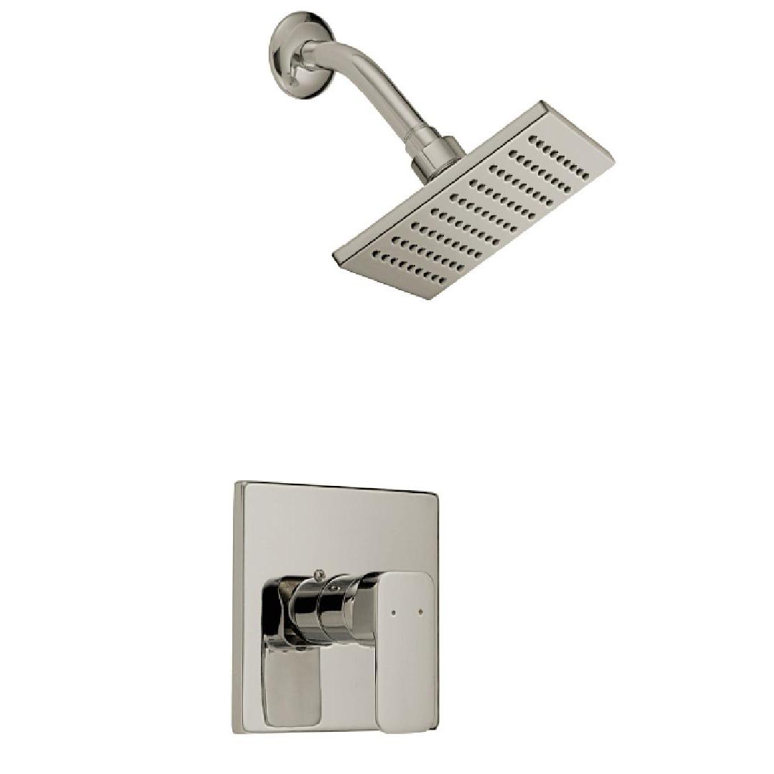 Design House Karsen Tub and Shower Faucet, Satin Nickel Finish - 547729