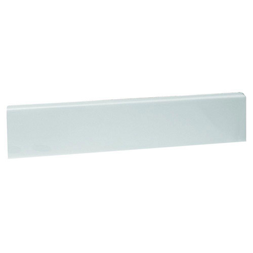 Design House 22 inch Marble Side Splash, Solid White - 553339