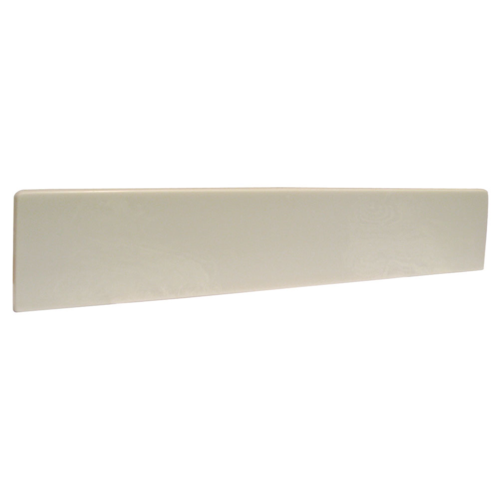 Design House 22inch Marble Side Splash, White - 553362
