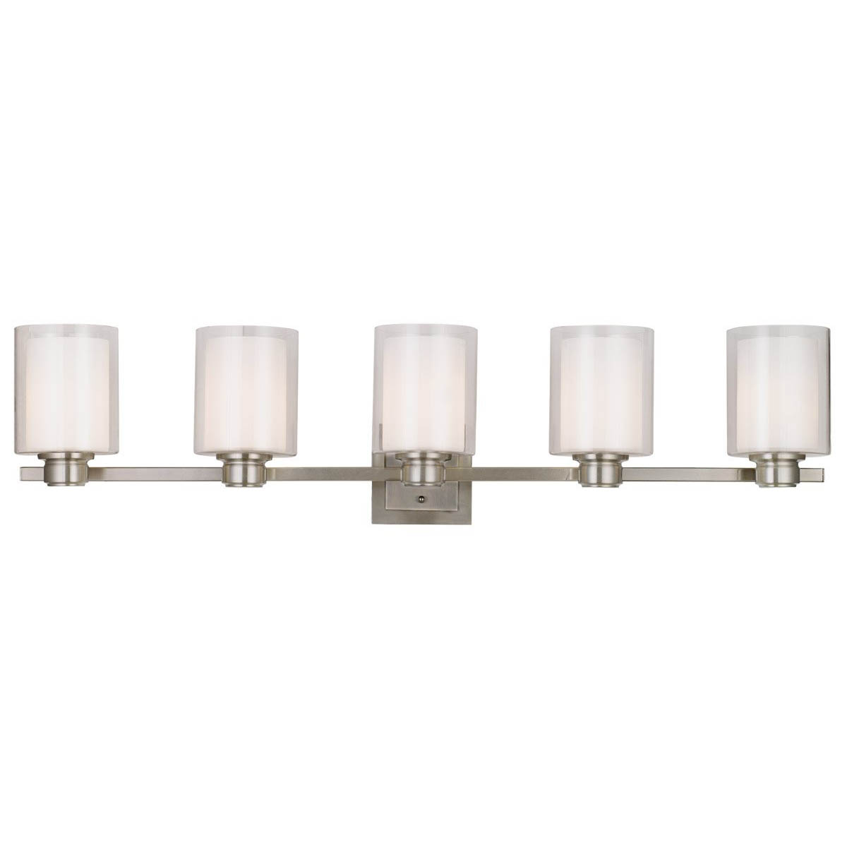 Design House Oslo Light Indoor Wall Mount in Satin Nickel - 556175