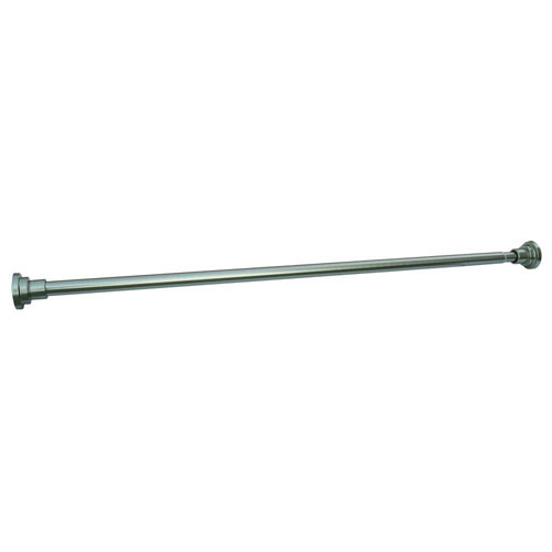Design House Adjustable Shower Rod, Satin Nickel Finish - 560912